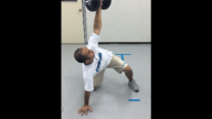 One Arm Snatch at Tripod Position snapshot